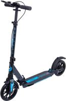 Самокат Ridex Trigger 200мм (черный/голубой) -