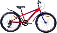 Велосипед AIST Rocky Junior 1.0 2021 (24, красный) -