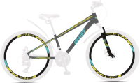 Велосипед AIST Rocky Junior 1.1 2021 (24, серый) -