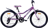 Велосипед AIST Rosy Junior 1.0 2021 (24, сиреневый) -