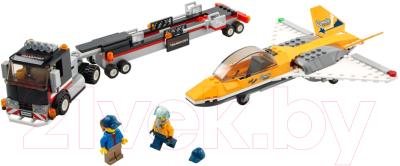 Конструктор Lego City Транспортировка самолета на авиашоу / 60289