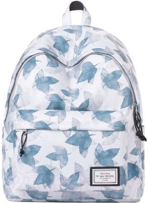 """Рюкзак MAH MR18A1050B02 14"""" (светло-серый/синий)"""