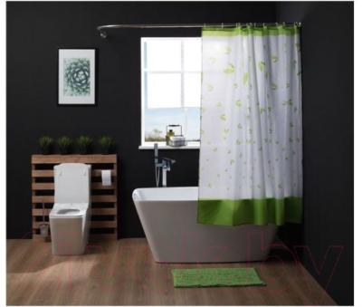 Коврик для ванной Aquanet 202342 (зеленый)
