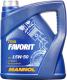 Моторное масло Mannol Favorit 15W50 SL/CF-4 / MN7510-4 (4л) -