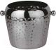 Ведерко для льда Sambonet Paderno Bar 18/10 Copper / 41513B20 (черный) -