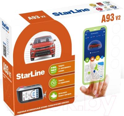 Автосигнализация StarLine A93 v2