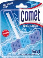 Чистящее средство для унитаза Comet Сменный блок Океан (48гр) -