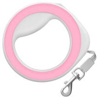 Поводок-рулетка Collar Waudog 81277 (XS-M, розовый) -