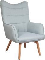 Кресло мягкое Седия Bogema (мятный/бук) -