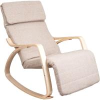 Кресло-качалка Седия Smart (ткань бежевый) -