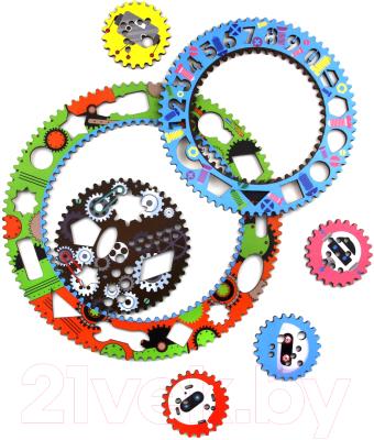 Развивающая игрушка WoodLand Toys Спирограф для рисования. Робот / 122105