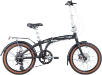 Велосипед Novatrack TG-20 Disc 20FATG8SD.BK20 -