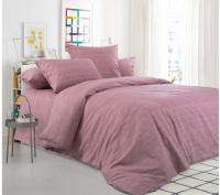 Комплект постельного белья Моё бельё Евро Эко 20493/3 (коричневый) -