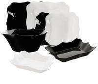 Набор тарелок Luminarc Authentic Black&White E6195 -