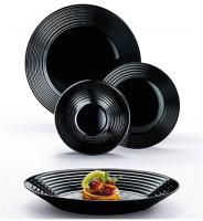 Набор тарелок Luminarc Harena Black N1421 -