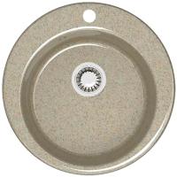 Мойка кухонная Berge BG-5100 (песочный глянцевый) -