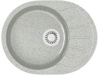Мойка кухонная Berge BG-5801 (серый глянцевый) -
