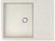 Мойка кухонная Berge BG-6502 (белый глянцевый) -