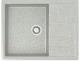 Мойка кухонная Berge BG-6502 (серый глянцевый) -