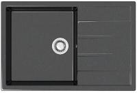 Мойка кухонная Berge BG-7603 (черный глянцевый) -