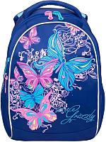 Школьный рюкзак Grizzly RG-868-4 (темно-синий) -