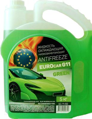 Антифриз EUROcar Готовый зеленый G11 / EC-11-5G