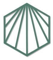 Подставка под горячее Zone Trivet Shell Ракушка / 331987 (зеленый) -