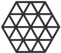 Подставка под горячее Zone Trivet Triangles Black / 330225 -