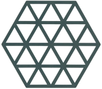 Подставка под горячее Zone Trivet Triangles Cactus / 330227 -
