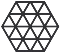 Подставка под горячее Zone Trivet Triangles Grey / 330226 -