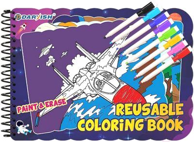 Раскраска Darvish Многоразовая. Военный транспорт / DV-12959-2