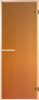 Стеклянная дверь для бани/сауны Банные Штучки 03119