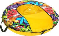 Тюбинг-ватрушка Тяни-Толкай 930мм Graffiti Comfort (оксфорд, Кабат) -