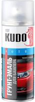 Эмаль автомобильная Kudo Для бампера (520мл, серый) -