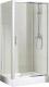 Душевой уголок Bravat Drop 120x80 / BS120.3100A (с поддоном) -