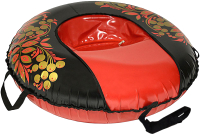 Тюбинг-ватрушка Тяни-Толкай 930мм Хохлома Comfort (тент, Норм) -
