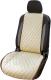 Накидка на автомобильное сиденье Novatonic НА-002 из алькантары (бежевый) -
