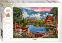 Пазл Step Puzzle Горное озеро / 84041 (2000эл) -