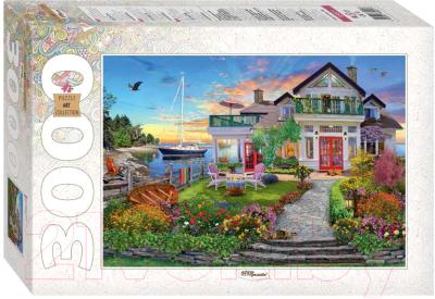 Пазл Step Puzzle Дом на берегу залива / 85021