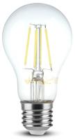 Лампа V-TAC 4 ВТ 400LM A60 Е27 4000К SKU-7119 -