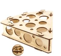 Игрушка для животных Woody Сыр / 06121 -