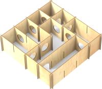 Игровая площадка для грызунов Woody Лабиринт / 06053 -
