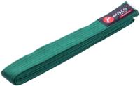 Пояс для кимоно RuscoSport 240см (зеленый) -