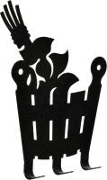 Вешалка для бани Банные Штучки Веник и ушат / 32493 -