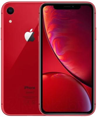 Смартфон Apple iPhone XR 64GB / MH6P3 (красный)
