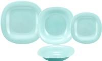 Набор тарелок Luminarc Carine P7628 (18шт, бирюзовый) -