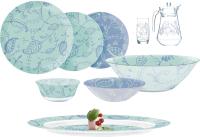 Набор столовой посуды Luminarc Simply Garnet Q0925 (46шт) -