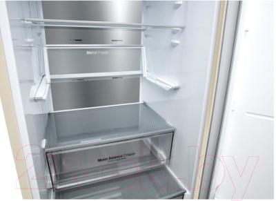 Холодильник с морозильником LG DoorCooling+ GA-B459SEQM