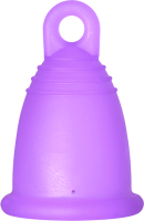 Менструальная чаша Me Luna Classic Ring Purple / MLCRP (L) -