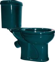 Унитаз напольный Оскольская керамика Дора + 236.692.21.2 (зеленый) -